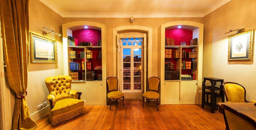 Elegante boutique hotel dagli interni raffinati