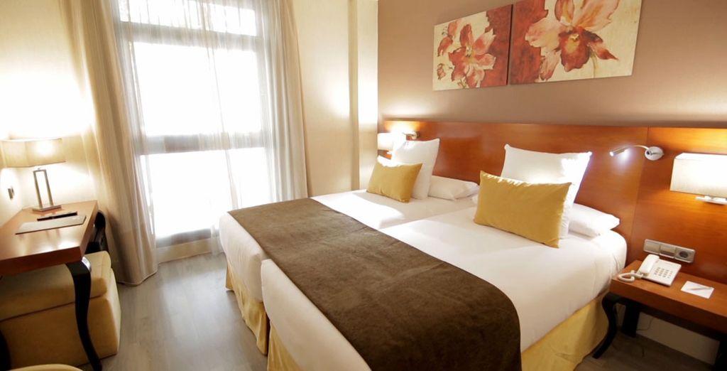 All'Hotel Puerta de Toledo soggiornerete in eleganti Camera Superior