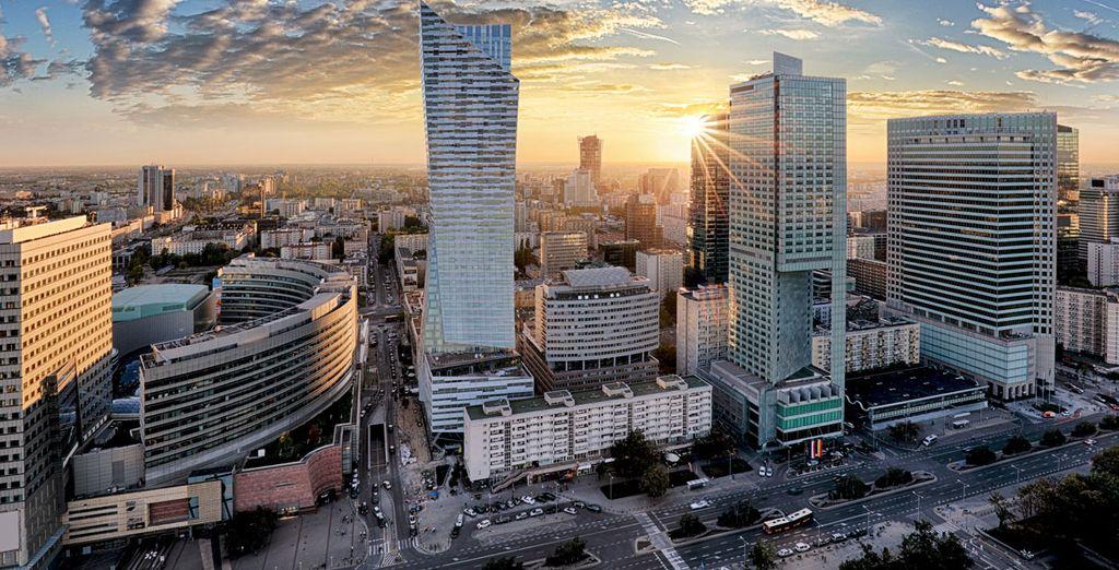 Varsavia è una città moderna che saprà stupirvi