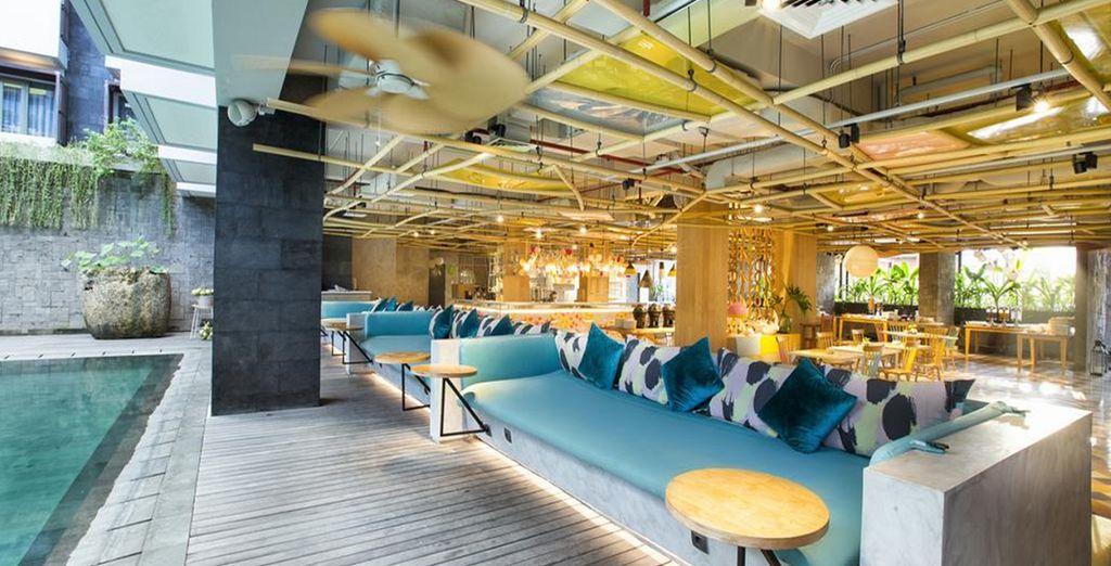 Dove soggiornerete nel moderno Tijili Seminyak Hotel