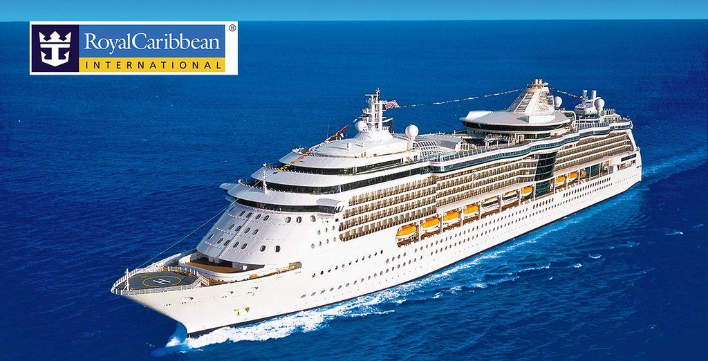 Partite per un incredibile viaggio a bordo della nave Serenade of the Seas