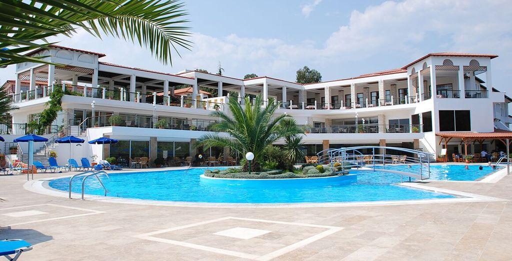 Qui vi accoglie l'Hotel Alexandros Palace 5*