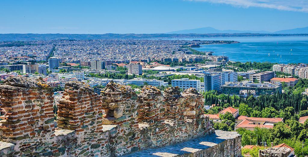 Prima tappa la splendida Salonicco