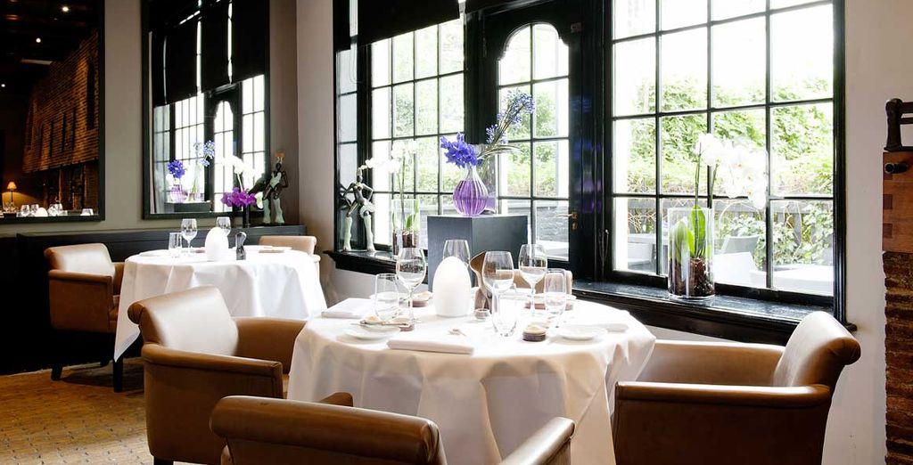 Regalatevi una cena di classe al Ristorante Vinkeles, premiato con una stella Michelin