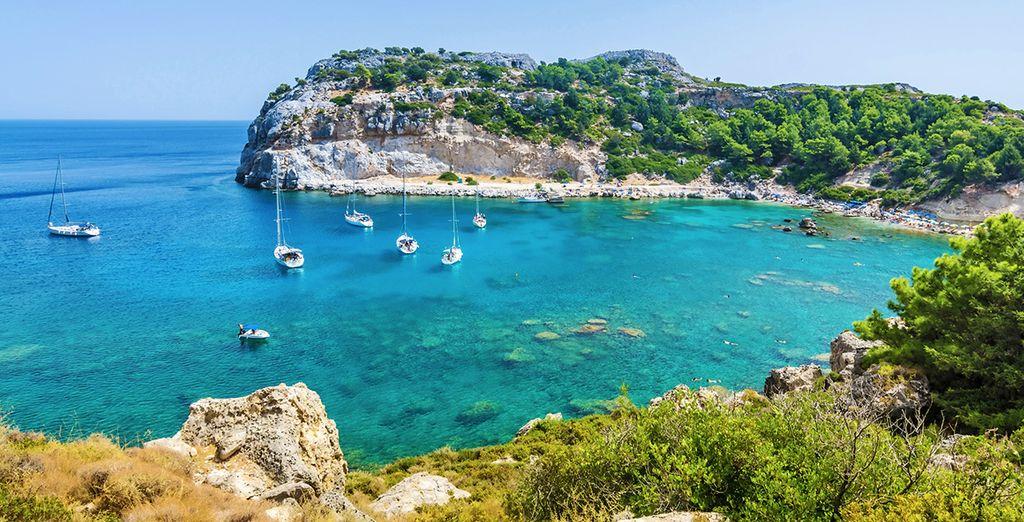 Fotografia e paesaggi della Grecia, a Rodi
