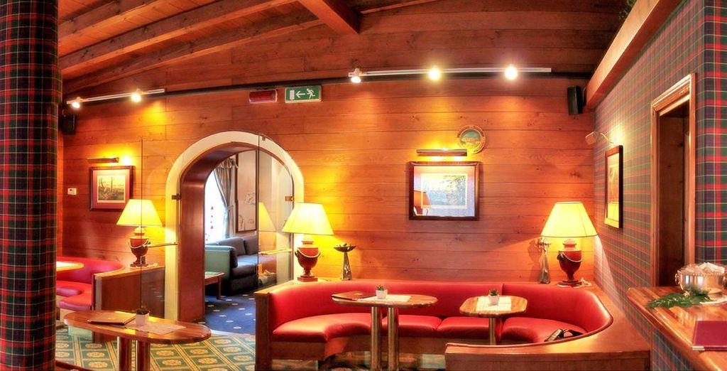 Trascorrete il vostro tempo libero in serenità presso il bar dell'Hotel Majoni