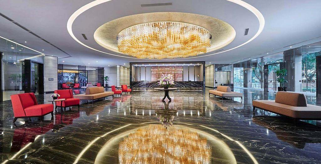elegante struttura situata in una comoda posizione, a soli 300 metri dalla stazione di MRT Lavender
