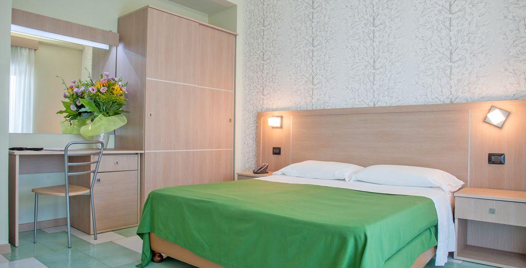 O una camera Deluxe per godere di spazi ancora più ampi