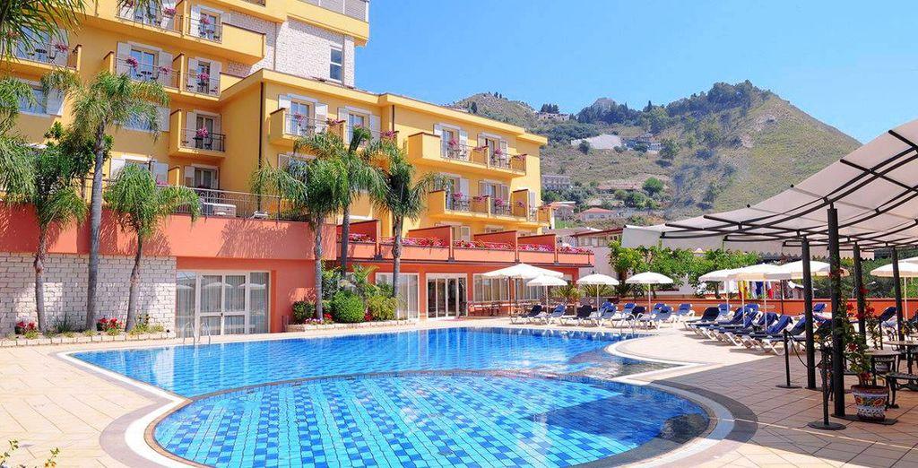 Diamond Naxos Taormina 5* - hotel taormina