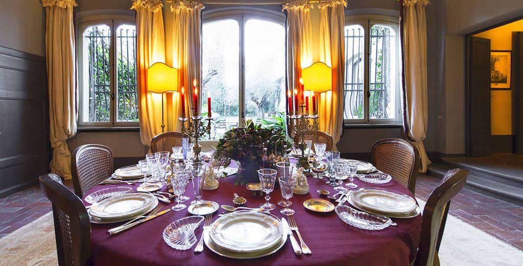 o per una speciale cena romantica su prenotazione