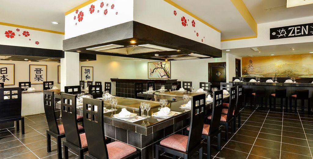Godetevi il trattamento All Inclusive e provate i ristoranti della struttura