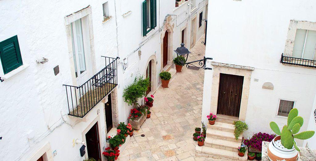 Nel cuore della Valle D'Itria vi accoglierà L'albergo diffuso le Cummerse