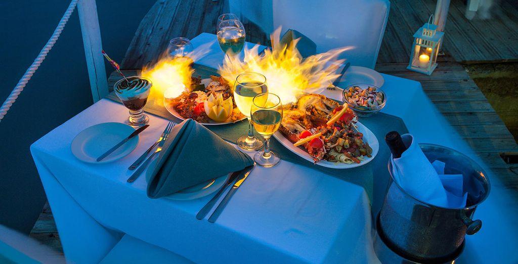 Potrete deliziare il vostro palato con ottimi piatti della cucina greca