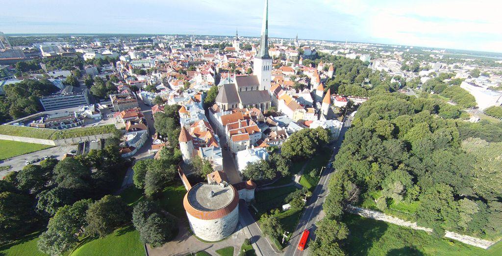 ...splendida città che affaccia sul Mar Baltico