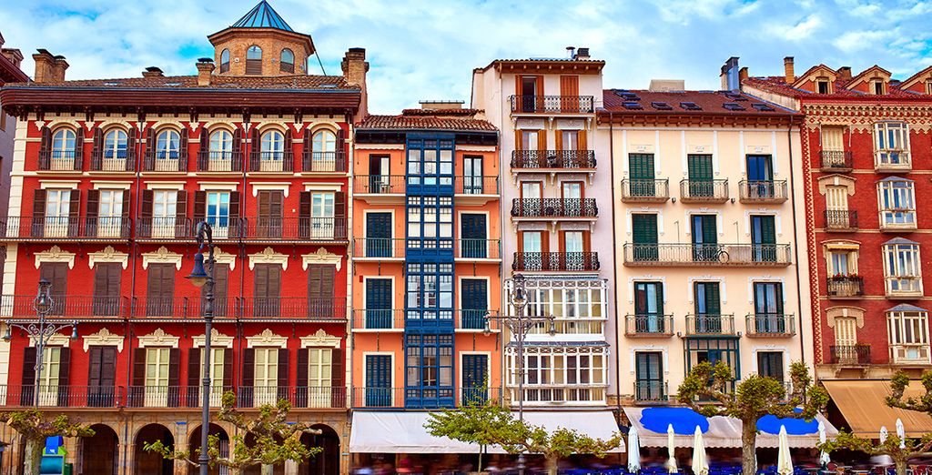 La famosa città di Pamplona