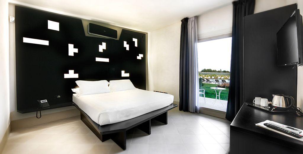 Soggiornerete in una moderna camera Comfort
