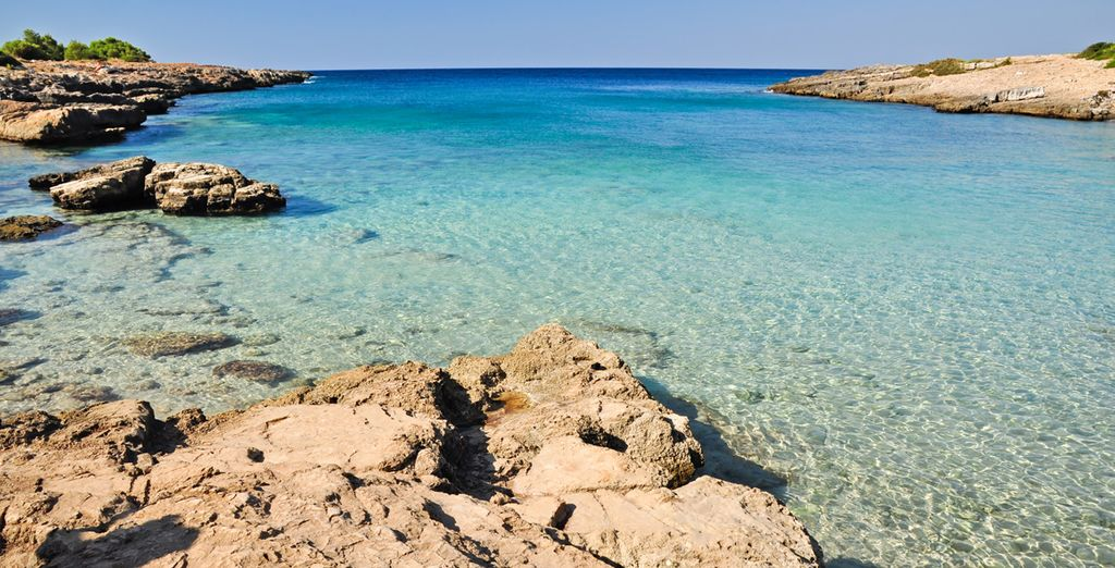 Ammirate la bellezza dei paesaggi della costa rocciosa