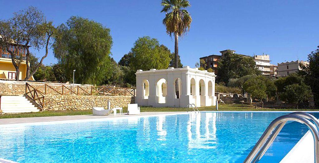 Benvenuti a Villa Calandrino, moderno ed elegante hotel nella pittoresca cittadina di Sciacca
