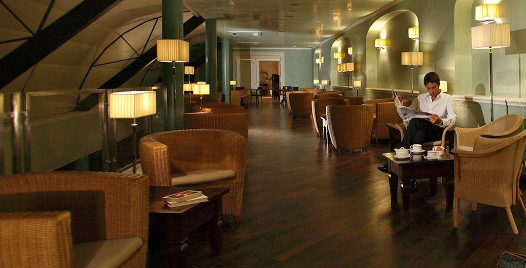 L'hotel mette a disposizione una sala lettura