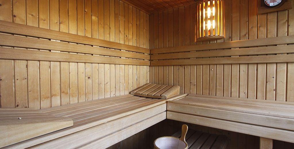 La Rooftop SPA vi attende con i suoi servizi come la sauna