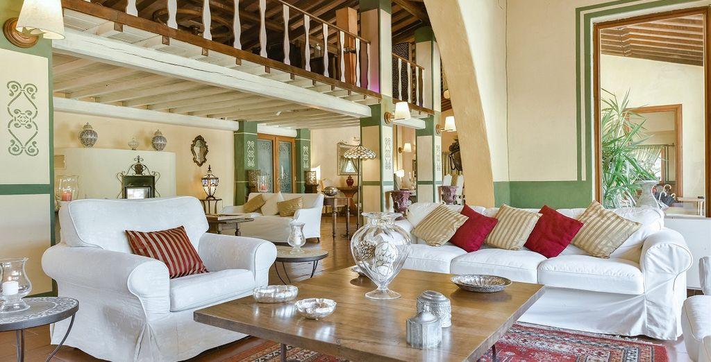 Villa gaudia vi accoglie nei suoi ambienti raffinati