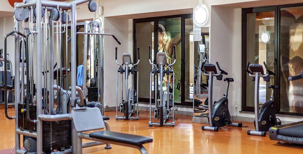 Per chi vuole restare in forma anche in vacanza, il resort mette a disposizione un centro fitness