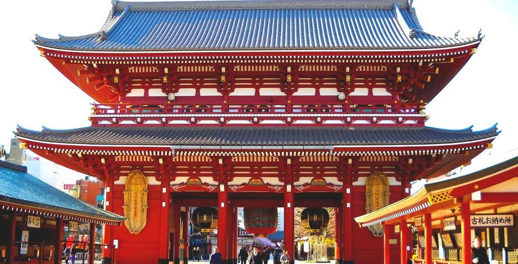 Come lo splendido Tempio di Asakusa Kannon