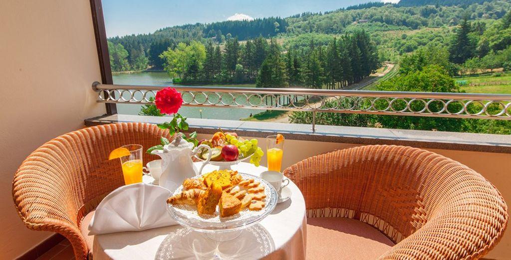 dotate di balcone per poter ammirare la vista sul lago