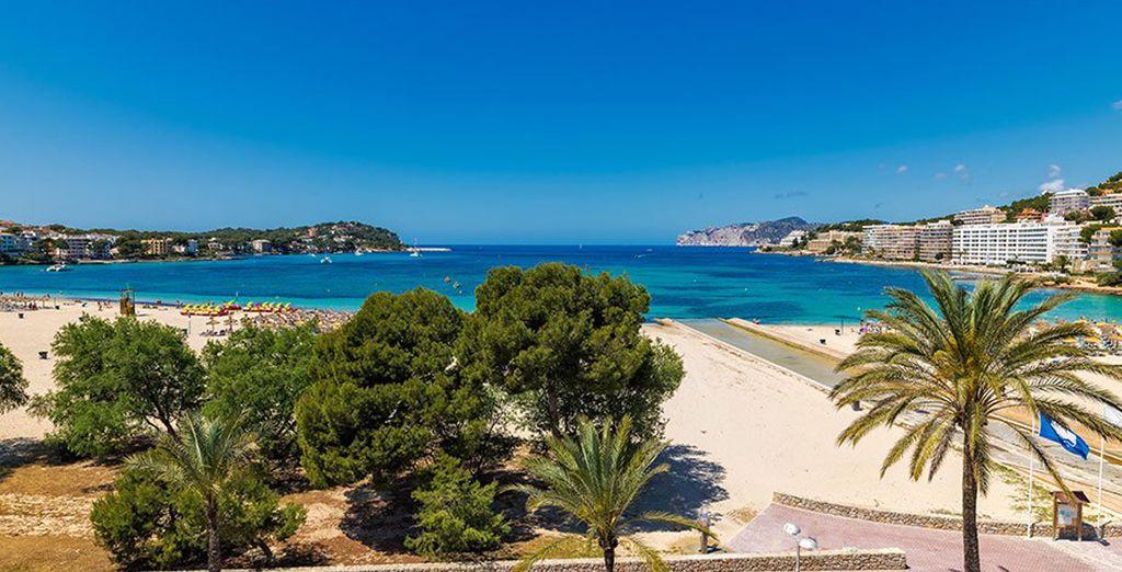 Le bellissime spiagge di Santa Ponça