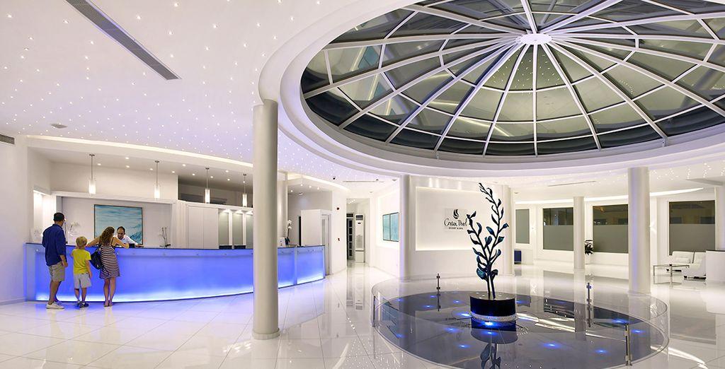 In un ambiente moderno e dal design contemporaneo