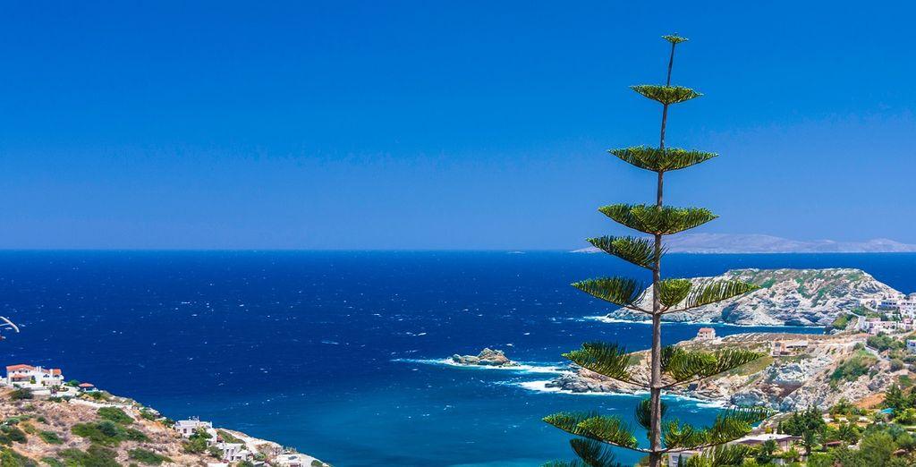 Il mare di Creta vi conquisterà con i suoi colori e la sua limpidezza.