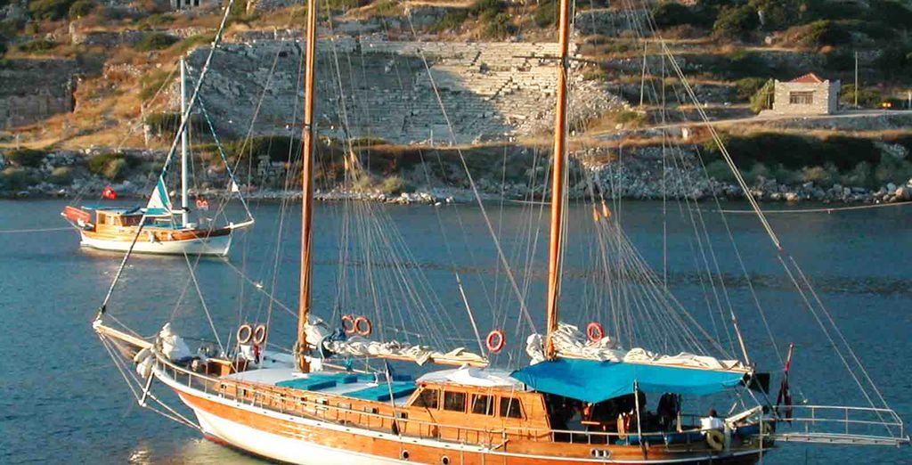 Un'imbarcazione caratteristica che vi porterà a scoprire