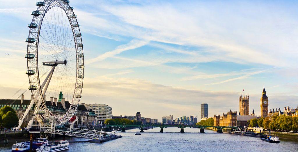 Visitate le principali attrazioni di Londra