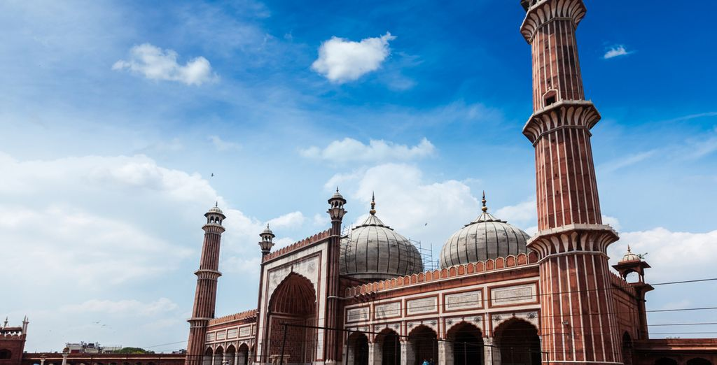 Visitate la moschea principale di Delhi, Jamma Masjid