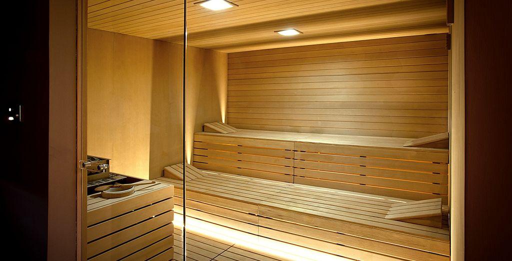 sauna e molto altro ancora