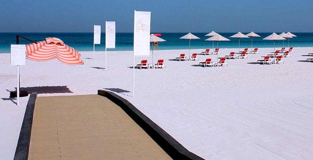 Con accesso a tutte le attività del fantastico Saadiyat Beach Club e alla sua spiaggia