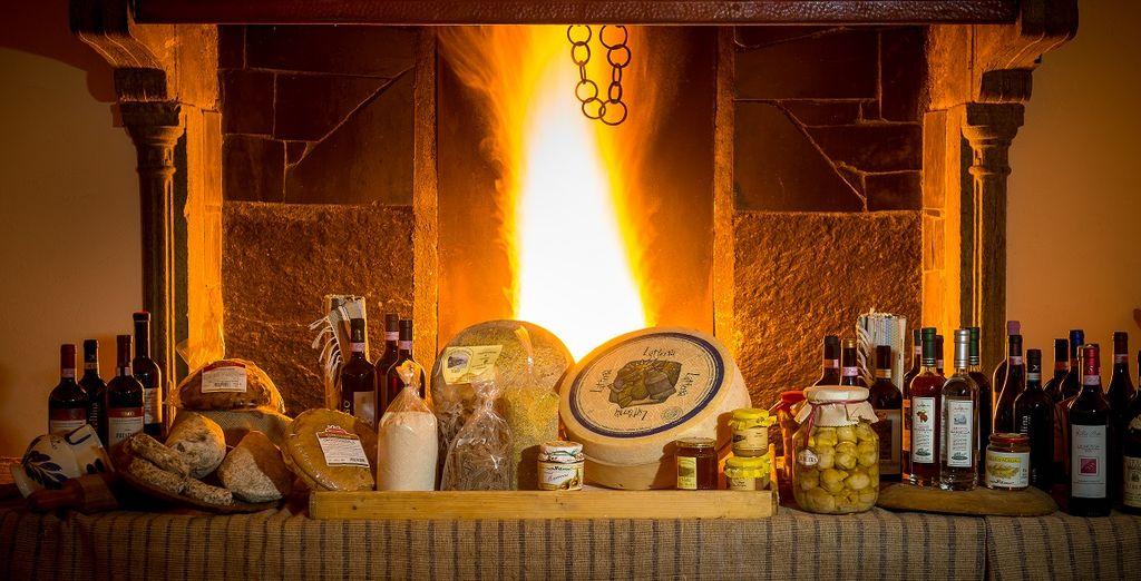 L'hotel è pronto a deliziarvi con le specialità culinarie preparate per voi