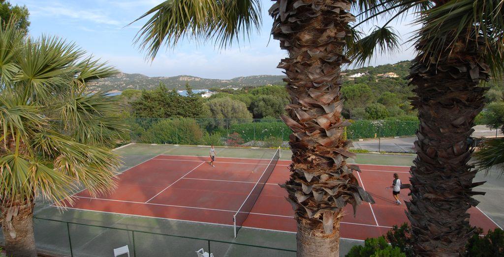 Iniziate la giornata con una partita a tennis