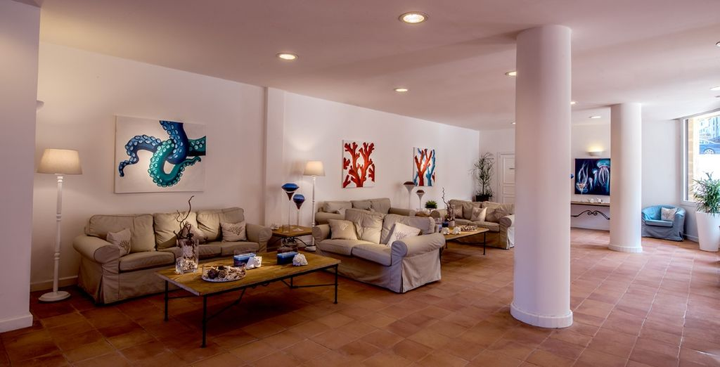 A vostra disposizione spazi confortevoli e accoglienti