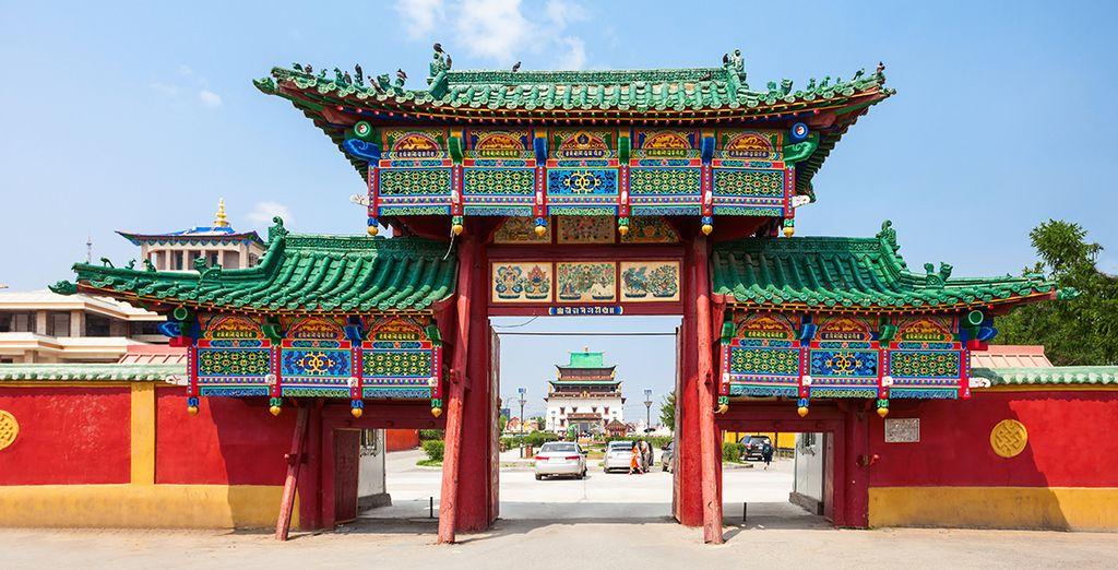 Fino alla famosa Ulaanbaatar, capitale della Mongolia
