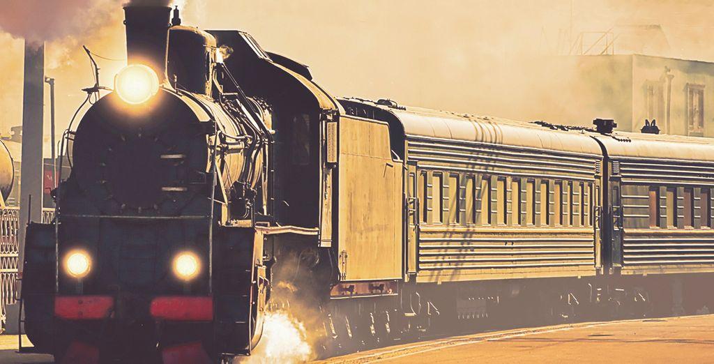 ....a bordo del leggendario Trans-Siberian Express da Mosca a Pechino