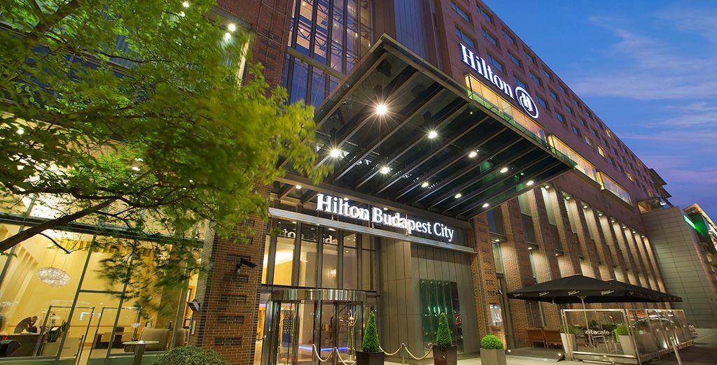 Presso l'Hilton Budapest City Westend 5*