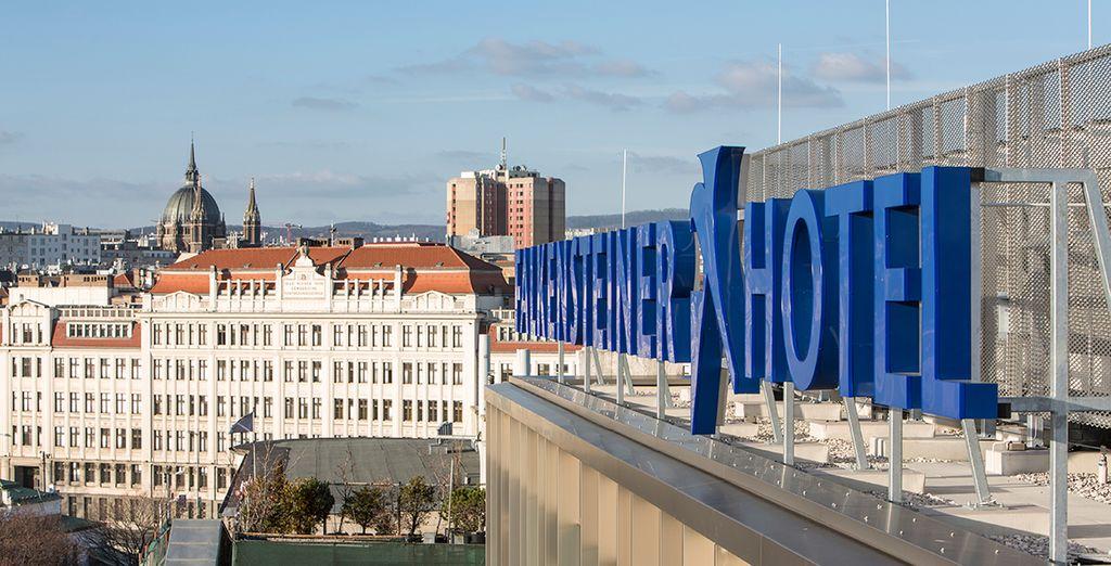 L'hotel è situato in una comoda posizione per partire alla scoperta di Vienna