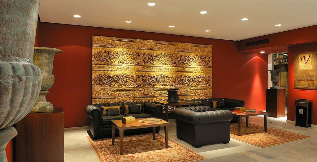 Un hotel dagli interni dal design moderno