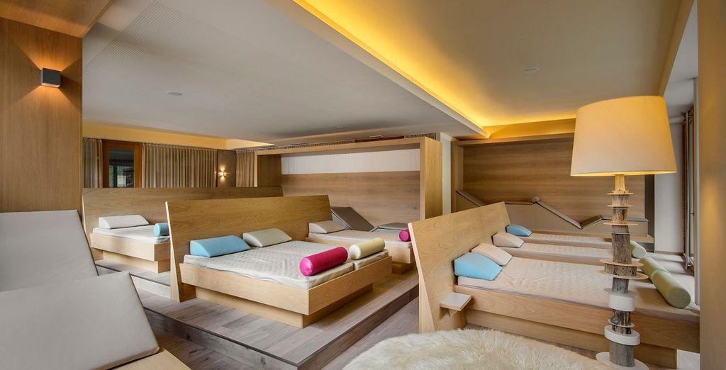 La zona relax dell'hotel sarà confortevole e silenziosa