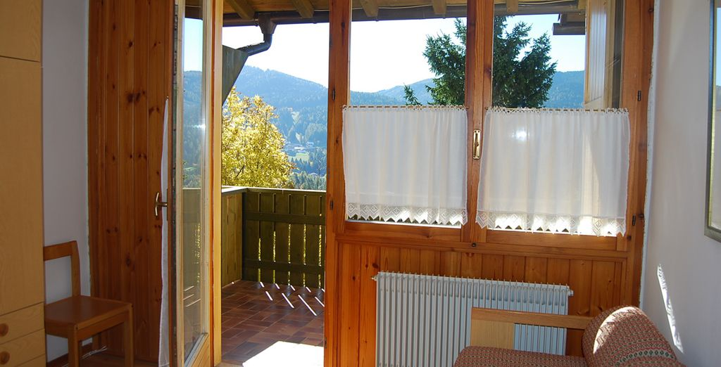 Dotati di una veranda da cui affacciarvi e ammirare il panorama