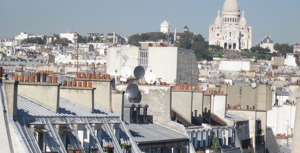 Il Maxime Opera si affaccia sulle boulevard dell'IX Arrondissement con vista su Montmarte