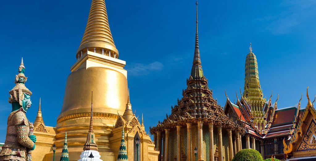 Come il bellissimo tempio Wat Phra Keo