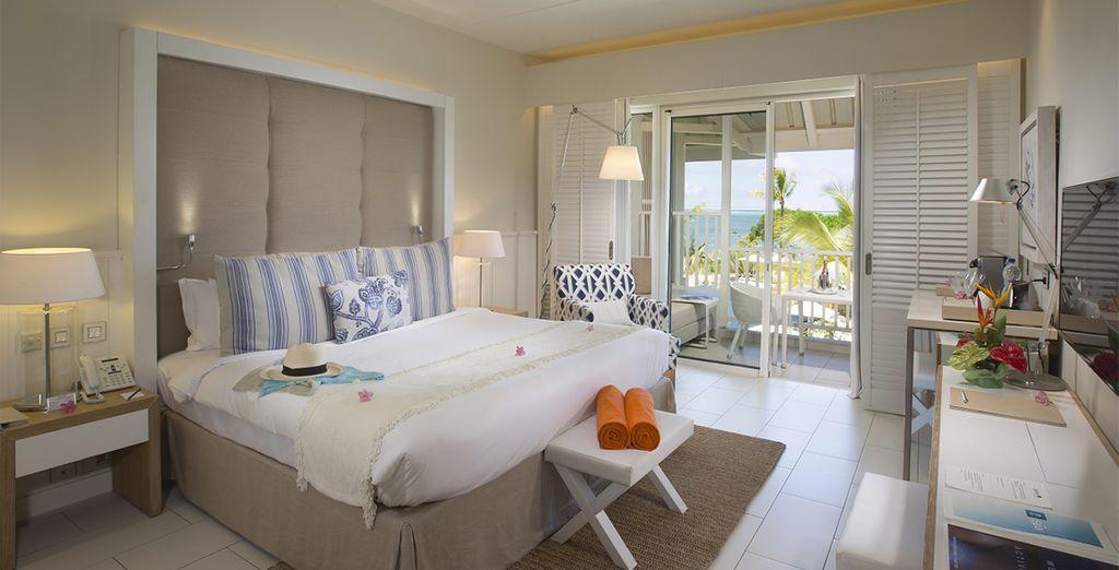 o in Camera Deluxe vista oceano per un soggiorno al massimo del relax