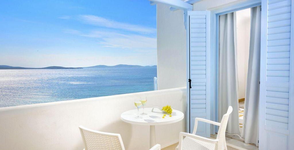 Da dove potrete ammirare fantastici tramonti sul Mar Egeo